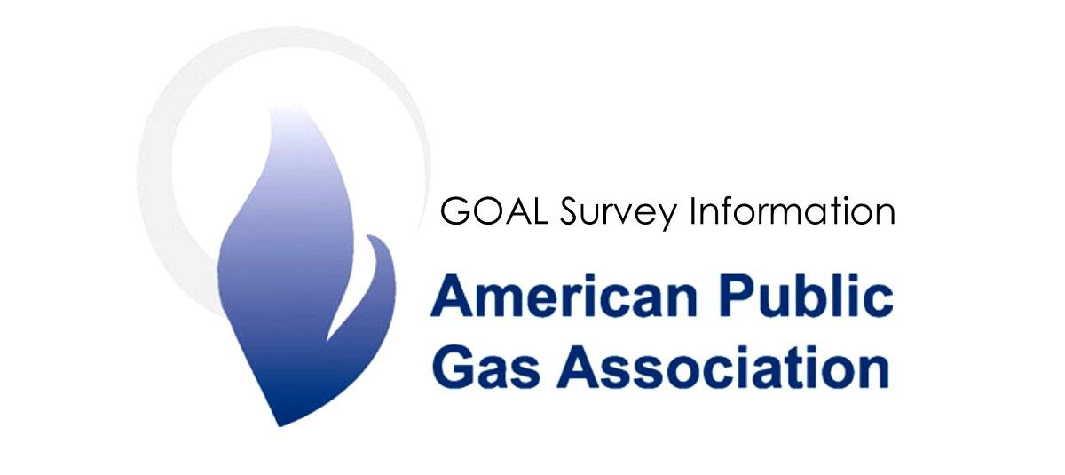 Goal Survey Information conducted by American Public Gas Association